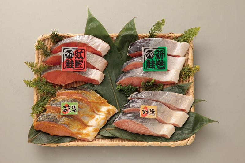 紅鮭&秋鮭の鮭づくしセット【お中元2018】