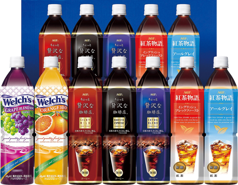 AGF ファミリー飲料ギフト(12本) LR-50【お中元2018】