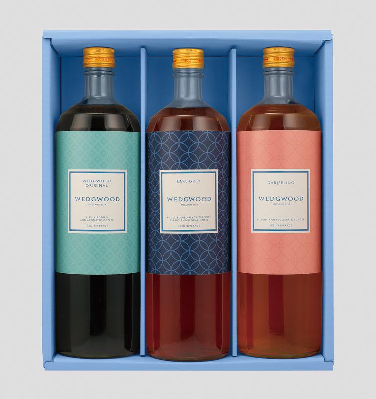 ウェッジウッド アイスティー&アイスコーヒーセット(3本) WD-30N【お中元2018】