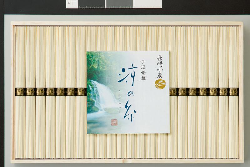 長崎小麦使用 島原手延素麺 涼の糸 22束 NKK-30【お中元2018】