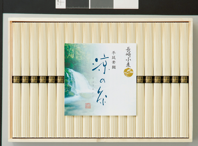 長崎小麦使用 島原手延素麺 涼の糸 40束 NKK-50【お中元2018】