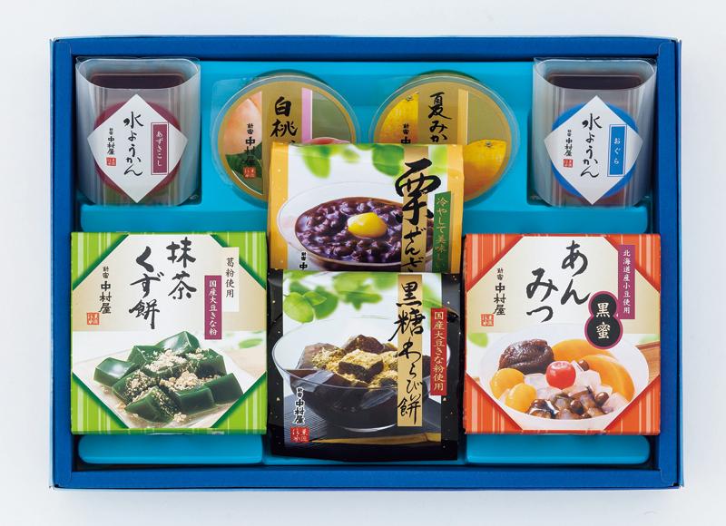 新宿中村屋 和水菓