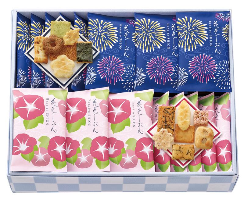 中央軒煎餅 夏花色しおん(28袋)
