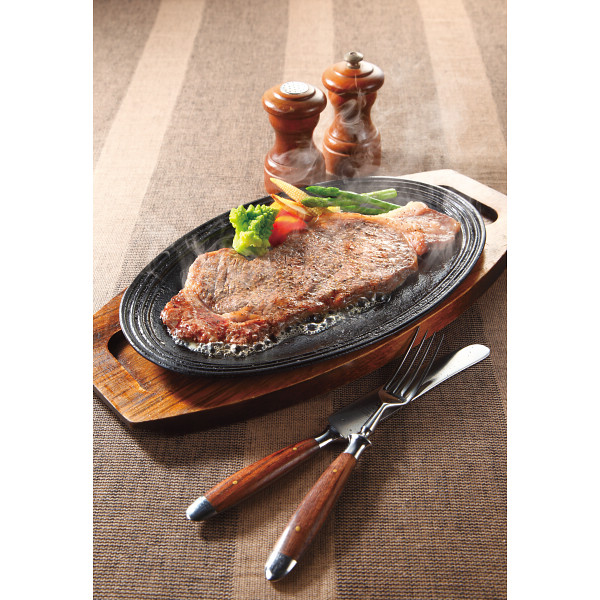 九州産黒毛和牛ロースステーキ