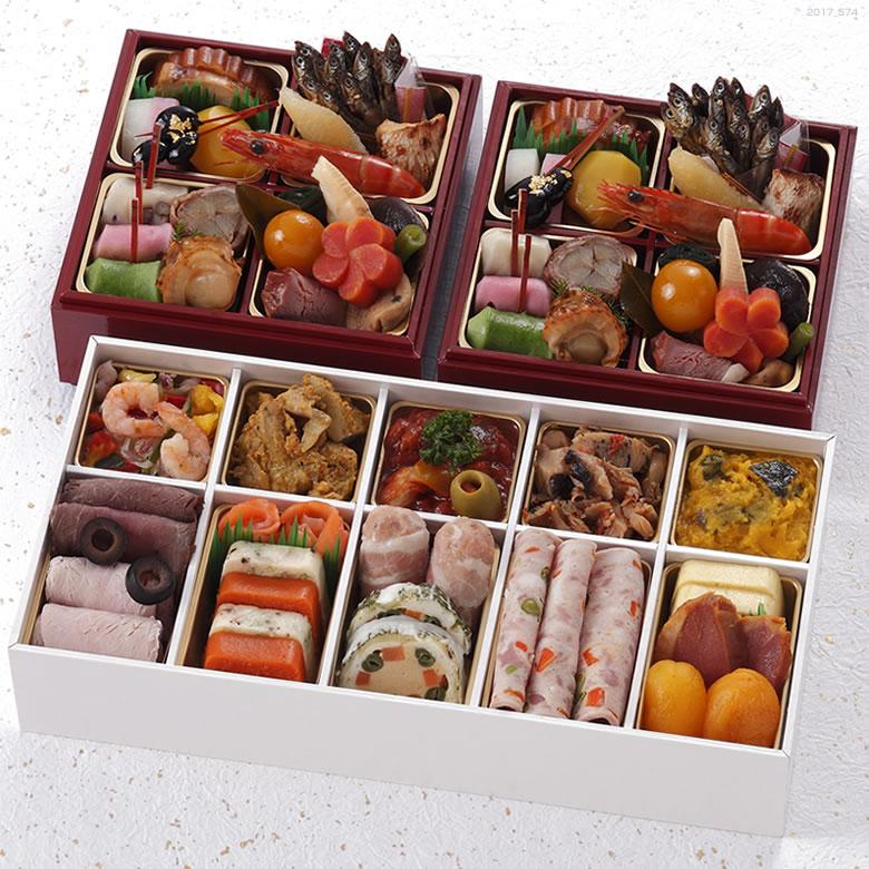 京都 しょうざん 個食おせち&オードブル42品目