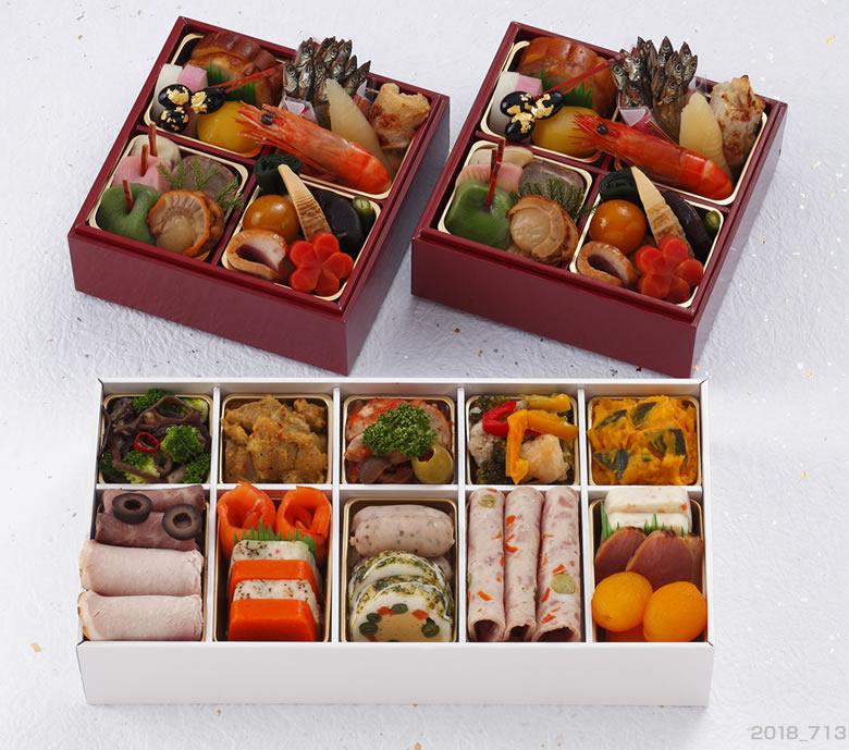 京都 しょうざん 個食おせち&オードブル43品目