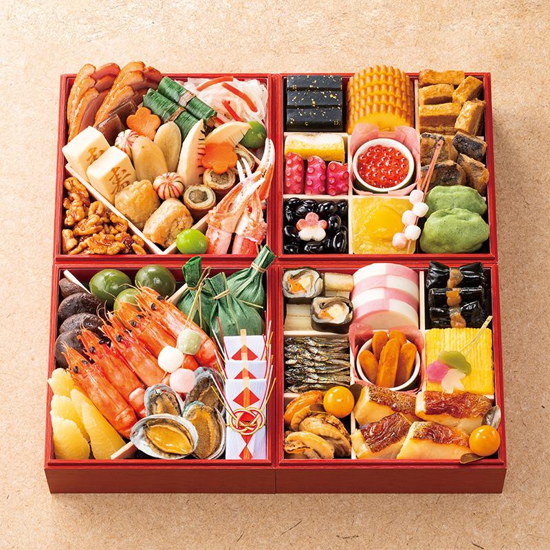 京菜味のむら 京風おせち「雅」四段重