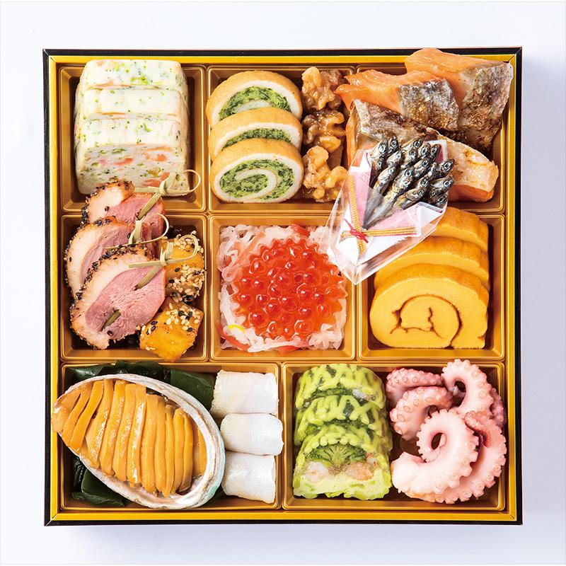 山玄茶&ビストロ ヤマダ 和洋おせち「祇園」三段重
