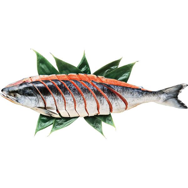 北海道産 新巻鮭切身L(姿・1.6kg)【お歳暮2018】