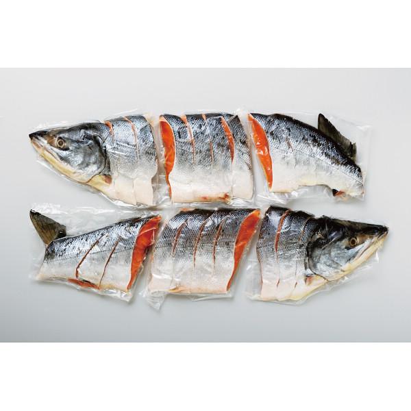 北海道産 新巻鮭切身2L(姿・2.4kg)【お歳暮2018】
