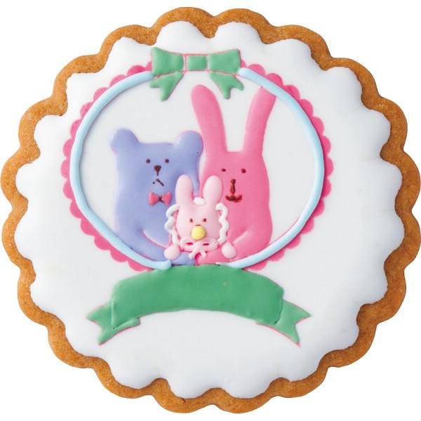 クラフトホリック タオルハンカチ&オーナメントクッキー〈名入れなし〉【お歳暮2018】